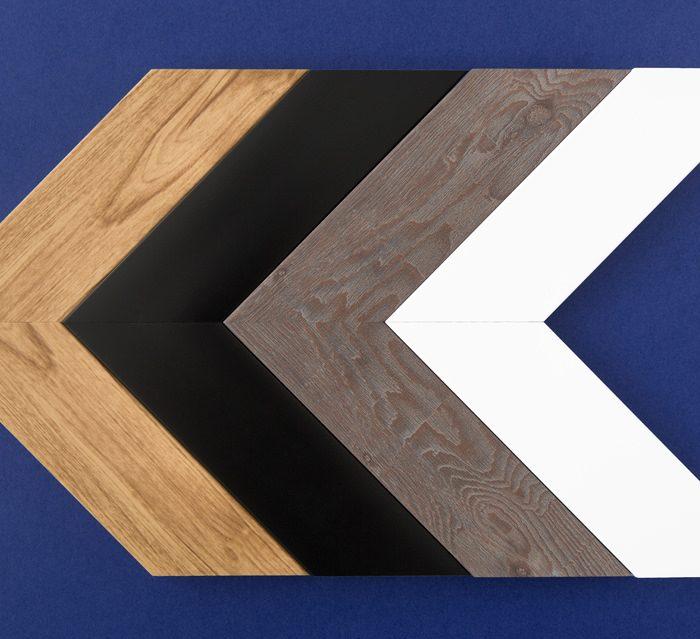 4 couleurs de cadre seront disponibles : blanc, noir, bois pâle, bois foncé.